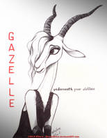 Gazelle - Underneath your Clothes by RavenEvert