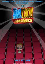 Teen Titans GO to the Movie - Poster by RavenEvert