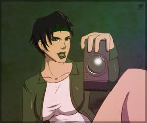 Jade selfshot by TriDark