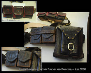 Pouches and Bandolier by North-Steading