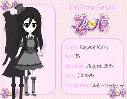 PriParaSekai App - Kagami Kuro by ninaanime