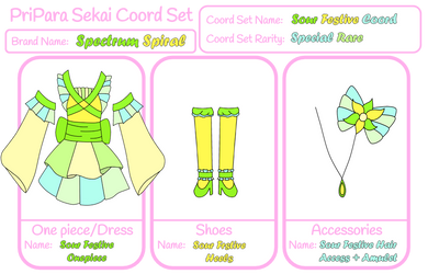 PPS - Spectrum Spiral - Sour Festive Coord by ninaanime