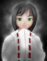 Akira: Shrine Maiden by IndustrialComics