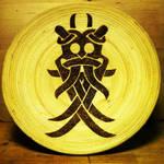 Mask of Odin Offering bowl by nitesdarkangel