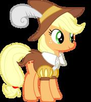 Applejack as Smart Cookie by darkxeetsh