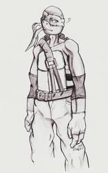 In pants  by DigimonSaversLover