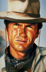 Clint Eastwood by wrightair