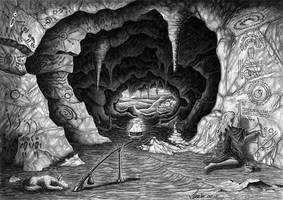 The storyteller's cave by Loulin
