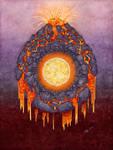 Elements redux - Fire by Loulin