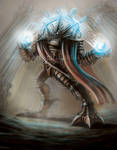 Steampunk Robot! (How to Paint digitally) by Yarkspiri