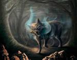 Demon Wolf + Video Tutorial by Yarkspiri