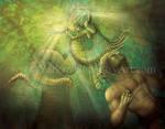 Snake women - Video Tutorial Link by Yarkspiri