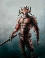 Demon Ninja + Video Tutorial Link by Yarkspiri