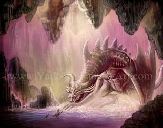 Beowolf vs Dragon by Yarkspiri