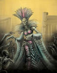 Witch Necromancer by Yarkspiri