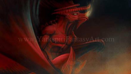 Fire Drake 001 by Yarkspiri