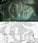 Down the Rabbit Hole - Alice in Wonderland Horror by Yarkspiri