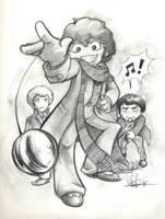 Three Doctors by Marker-Mistress