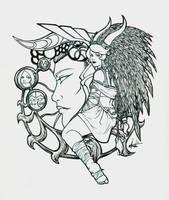 Beginnings - Inks by Marker-Mistress