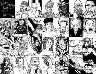 Doctor Who Monsters 1 by Marker-Mistress