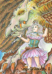 Elf Maiden AP by Marker-Mistress