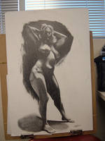 Life Drawing Final by Marker-Mistress