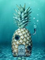 SpongeBob's House by iLeeh95