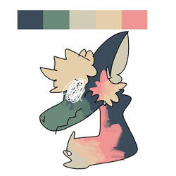 i had a palette and forgot the horns by cryssi-the-acid-slim