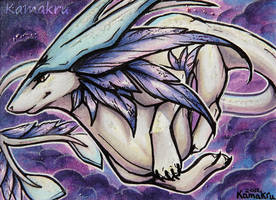 Moon Dragon for ZeitgeistDragon by Kamakru