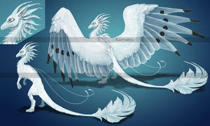 Snow and Ice Dragon Adopt - CLOSED by Kamakru