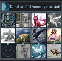 2014 Summary Of Art by Kamakru