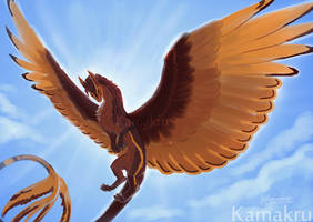 Painter X Sketch Practice: Ista in the Sun by Kamakru