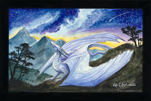 Listen to the Stars - Original Painting Giveaway! by Kamakru