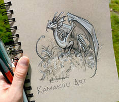 Smaugust day 10 by Kamakru