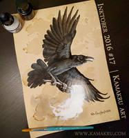 Inktober 2016 - Ink and Coffee #17 - Xhuuya by Kamakru
