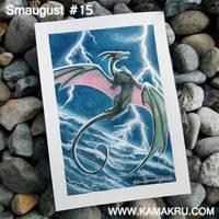 Smaugust / Dragonbrushed #15 by Kamakru