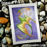 Smaugust / Dragonbrushed #19 by Kamakru