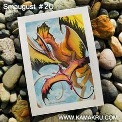 Smaugust / Dragonbrushed #20 by Kamakru