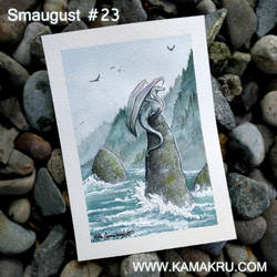 Dragonbrushed [Smaugust] #23 - By the Coast by Kamakru