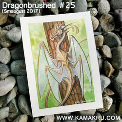 Dragonbrushed [Smaugust] #25 - Golden Four Wing by Kamakru