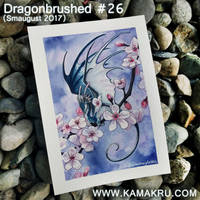 Dragonbrushed [Smaugust] #26 - Cherry Blossom by Kamakru