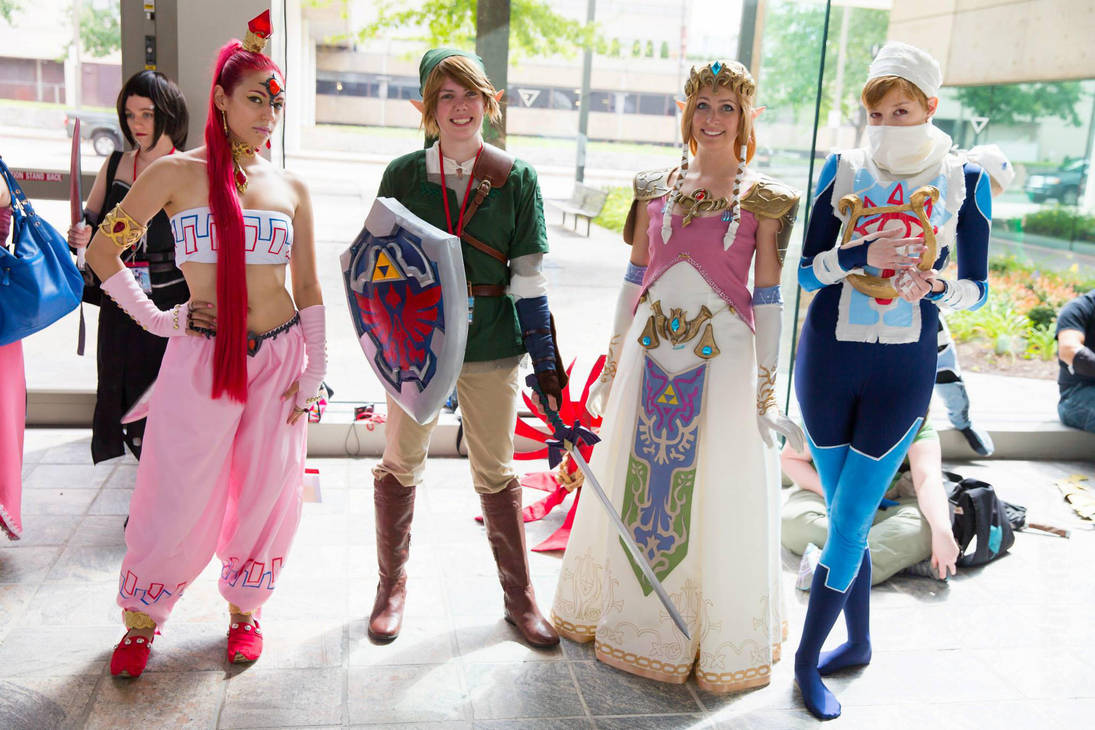 Nabooru Link Princess Zelda And Sheik By Lordlicosplay On Deviantart