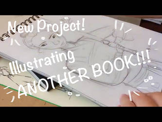 NEW ILLUSTRATION POJECT!!! (youtube video) by Belle-Skies