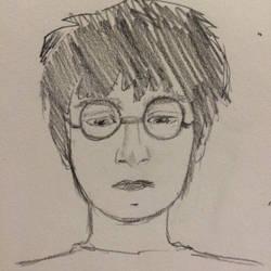 The boy who lived  by AllisArtWorld