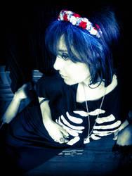 Blue flower by mychofy