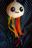 Rainbow Jellyfish by youtastelikecookies