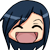 Happy Chibi Yuisu emoticon