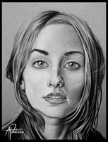 charcoal portrait 2 by pitch-kee