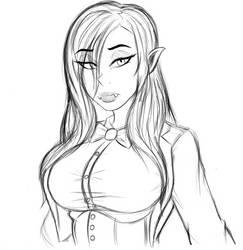 Magician Lilith by AnimalAutumn