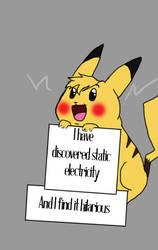 Pokemon Shamming Pikachu by EweLamb-Lover